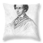 Antonin CarÊme (1783-1833) Throw Pillow by Granger