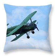 Antonov An 2 Throw Pillow