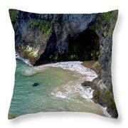 Antrim Coast Throw Pillow