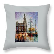 Antwerp - Belgium Throw Pillow