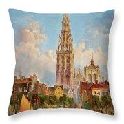 Antwerp Throw Pillow
