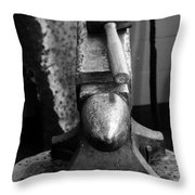 Anvil Face Throw Pillow