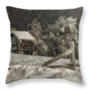 Any Port In A Storm Throw Pillow