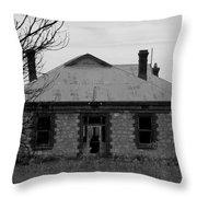 Anybody Home Throw Pillow