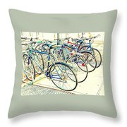 Anyone For A Ride? Throw Pillow