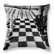 Anyone For Chess Throw Pillow