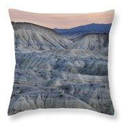 Anza-borrego Landscape Throw Pillow