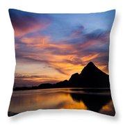 Ao Manao Sunrise Throw Pillow