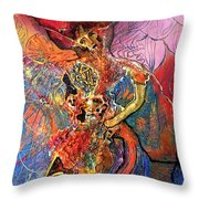 Apache Cosmogony  Throw Pillow