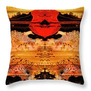 Apache Picture Jasper Throw Pillow