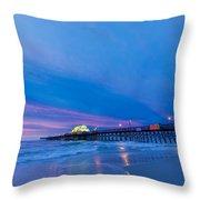 Apache Pier At Sunrise Throw Pillow