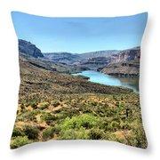 Apache Trail - Salt River - Arizona Throw Pillow