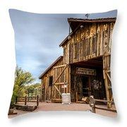 Apacheland Throw Pillow