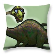 Apatosaurus Brontosaurus Throw Pillow