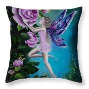 Aphrodite's Rose Throw Pillow