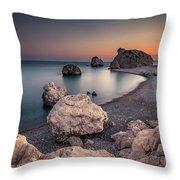 Aphrodities Rock  Throw Pillow