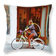 Spirit Of Key West #2 Throw Pillow
