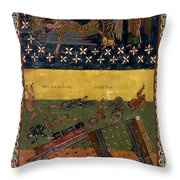 Apocalypse: Babylon Throw Pillow