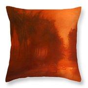 Apocalypse Dawn Throw Pillow