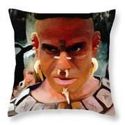 Apocalypto Throw Pillow