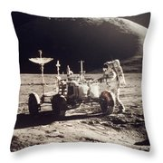 Apollo 15, 1971 Throw Pillow