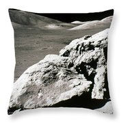 Apollo 17, December 1972: Throw Pillow