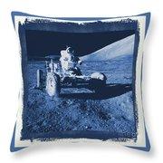 Apollo 17 Lunar Rover - Nasa Throw Pillow