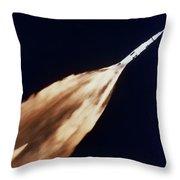 Apollo 6 Spacecraft Leaves A Fiery Throw Pillow