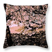 Apollo And The Muses Throw Pillow