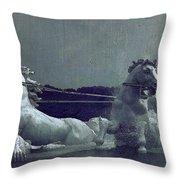 Apollo Fountain Throw Pillow