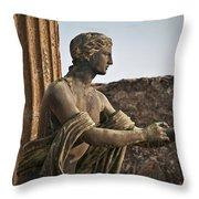 Apollo In Pompeii Throw Pillow