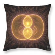 Apophysis 2 Throw Pillow
