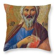 Apostle Andrew 1311 Throw Pillow