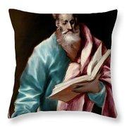 Apostle Saint Matthew Throw Pillow