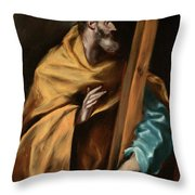 Apostle Saint Philip Throw Pillow