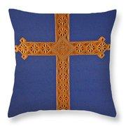 Apostle's Cross Throw Pillow