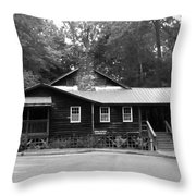 Appalachia House Throw Pillow