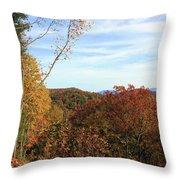 Appalachian Fall Throw Pillow