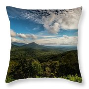 Appalachian Foothills Throw Pillow