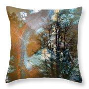 Appalachian Freedom...falls Pennsylvania Throw Pillow
