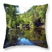 Appalachian Mirror II Throw Pillow