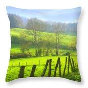 Appalachian Spring Morning Throw Pillow