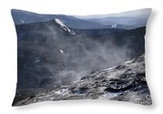 Appalachian Trail - Franconia Ridge-white Mountains New Hampshire Throw Pillow
