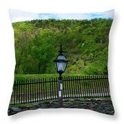 Appalachian Trail In West Virginia Goes Through Harpers Ferry Throw Pillow