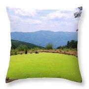 Appalachian Vista Throw Pillow