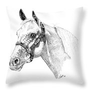 Appaloosa Throw Pillow