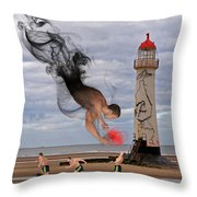 Apparition And Sighting Throw Pillow