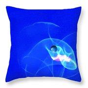 Apparition Pearl Throw Pillow by Steve Karol