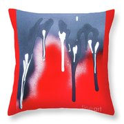 Appeasing The Volcano Throw Pillow