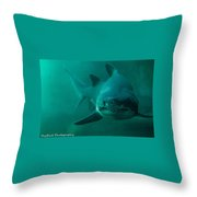 Appetite For Disaster Throw Pillow